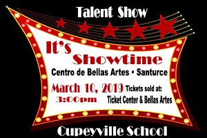 TALENT SHOW CUPEYVILLE SCHOOL 2019